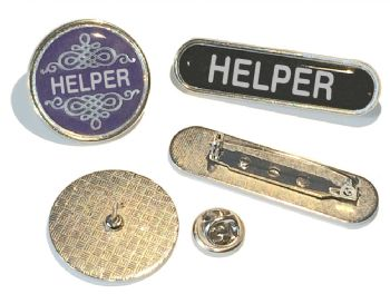 HELPER badge